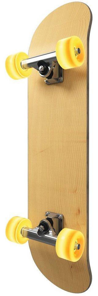 EVOTEC LED-Wandleuchte, 5flg., »LIGHT CRUISER« in edelstahlfarben mit Holz