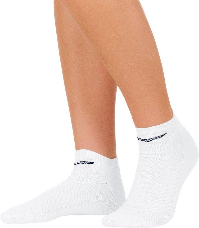 TRIGEMA Kurzschaft-Socken Doppelpack in weiss