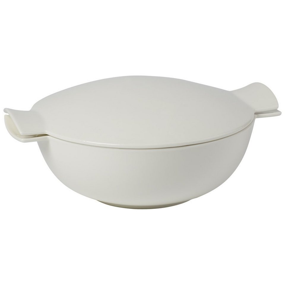 VILLEROY & BOCH Terrine 4 Pers. 32x26x10cm »Soup Passion« in Weiss