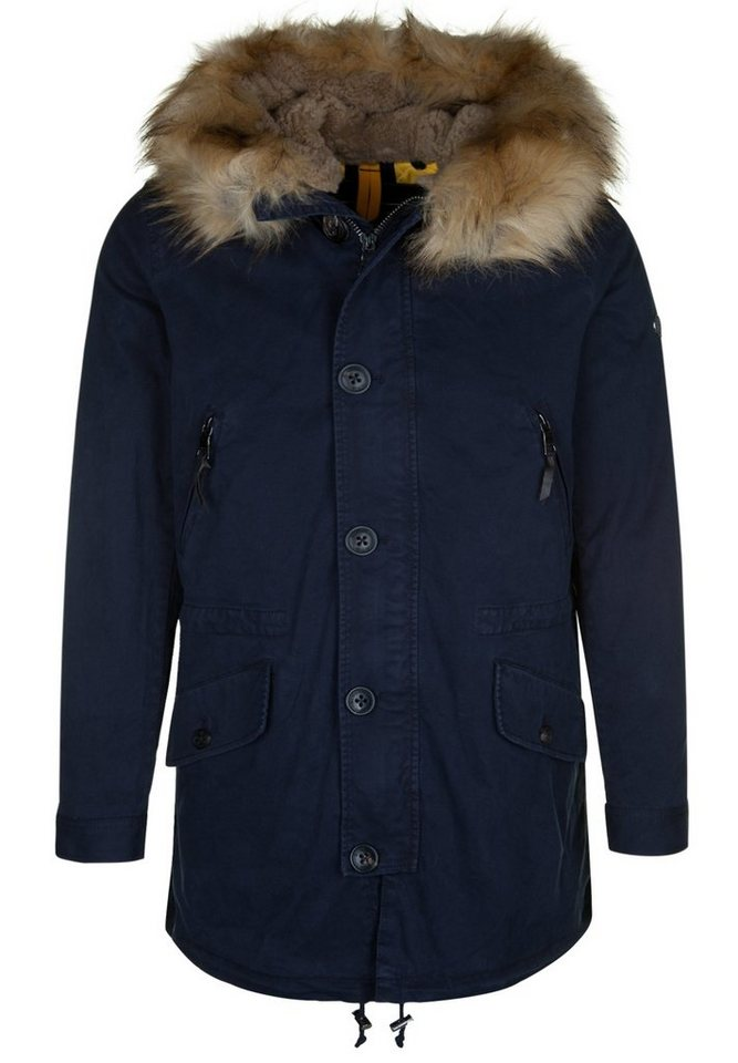 Blonde No.8 Parka »ST MORITZ FAKE FUR« in navy