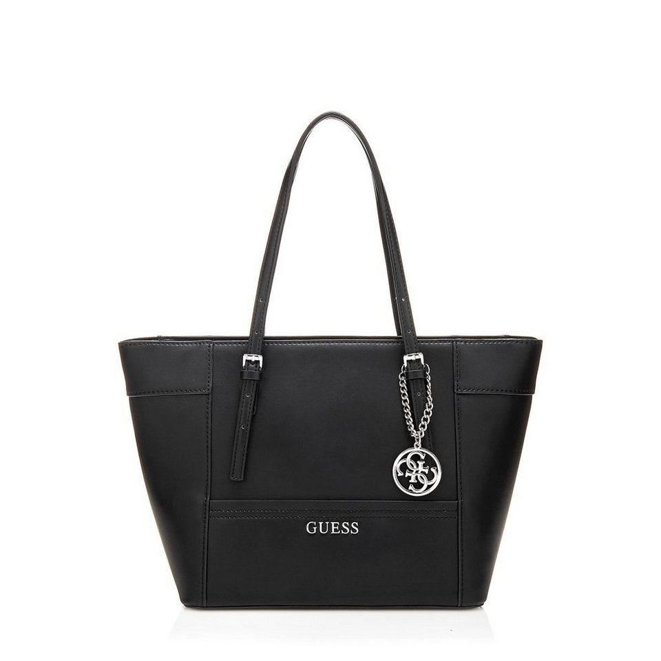 Guess KLEINER SHOPPER DELANEY in Schwarz