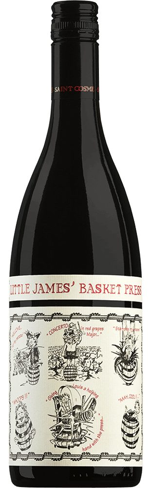 Rotwein aus Frankreich, 13,5 Vol.-%, 75,00 cl »Little James' Basket Press«