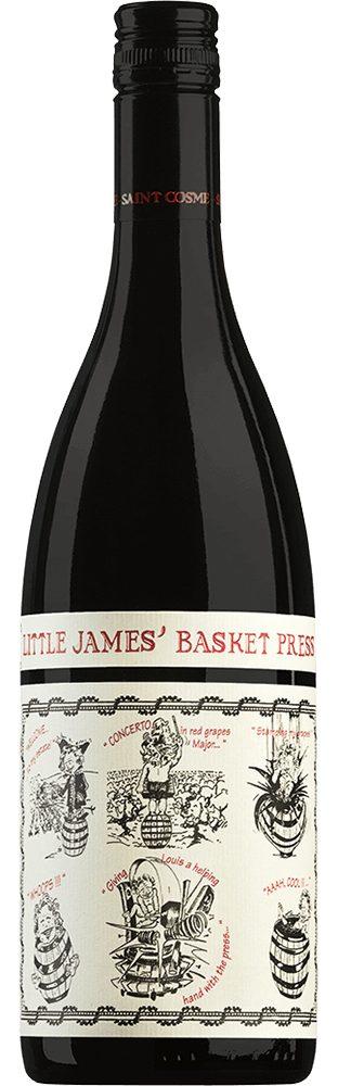 Rotwein aus Frankreich, 13,5 Vol.-%, 75,00 cl »Little James' Basket Press«