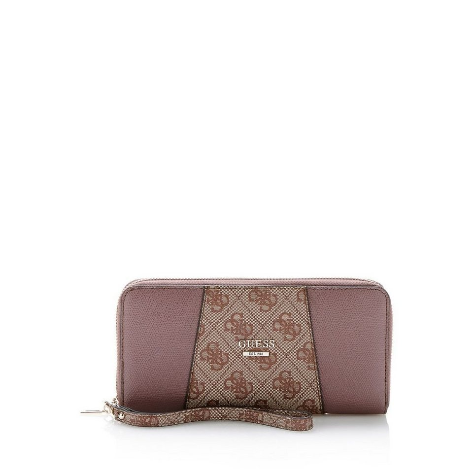 Guess PORTEMONNAIE GIA LOGO 4G in Mehrfarbe Rose
