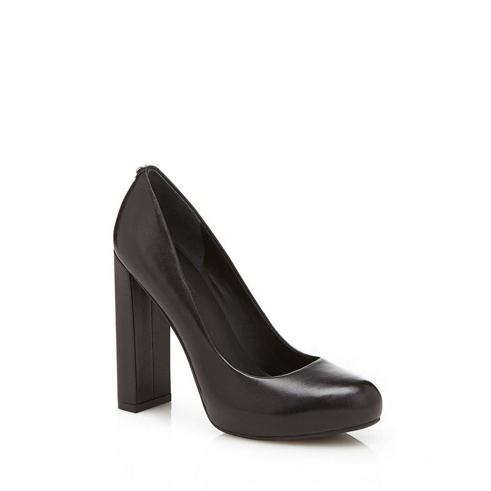 Guess PUMPS MAXSIE AUS LEDER in Schwarz