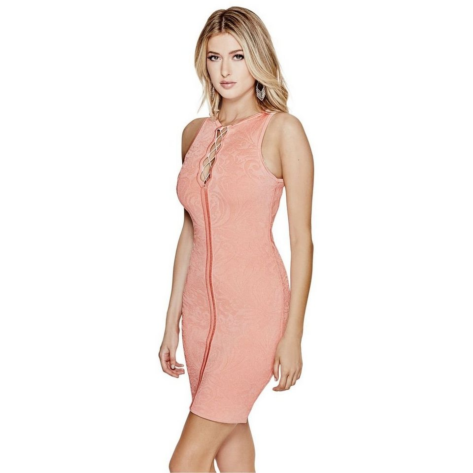 Guess KLEID SPITZENOPTIK in Rose