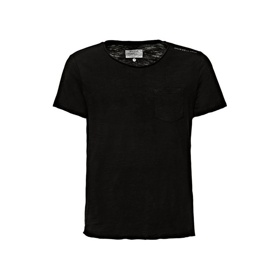 guess t shirt mit brusttasche online kaufen otto. Black Bedroom Furniture Sets. Home Design Ideas