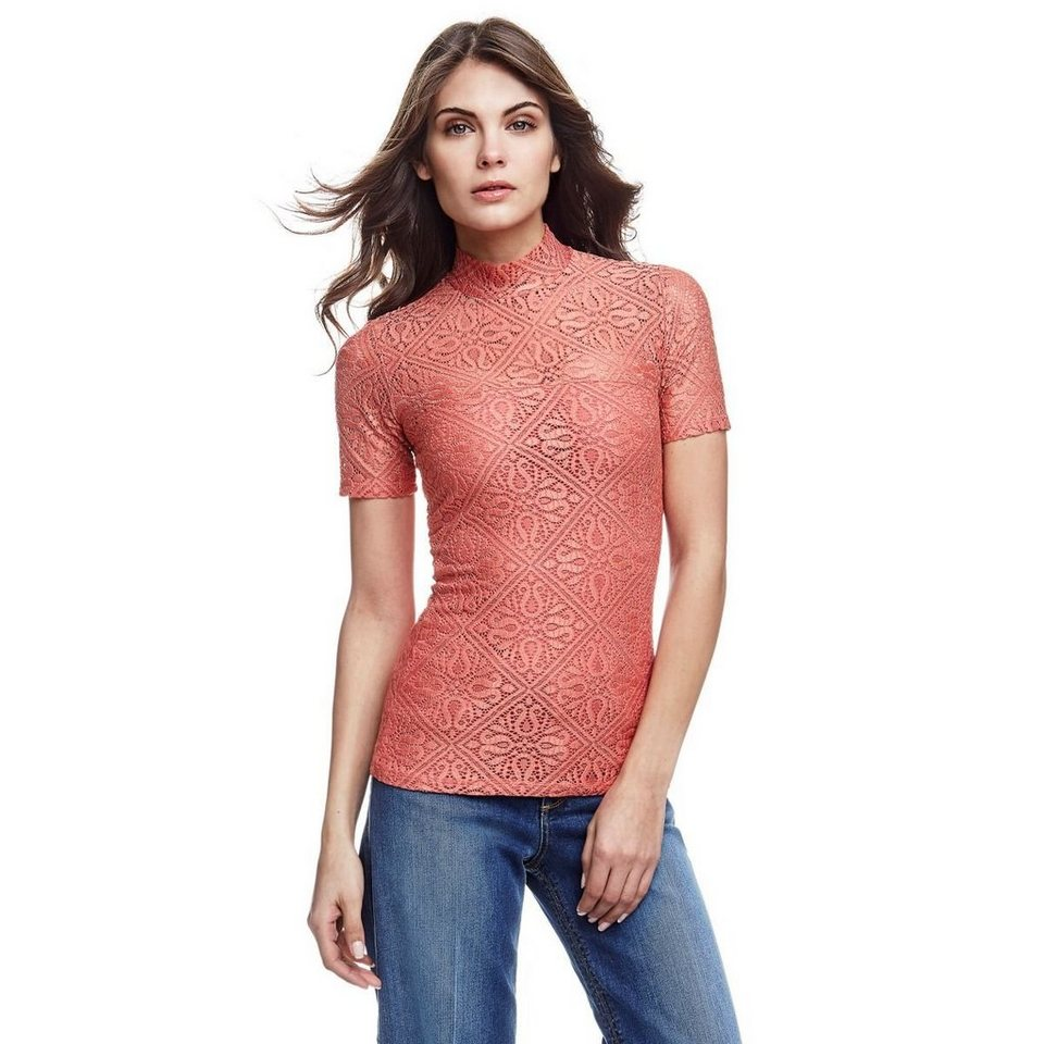 Guess SHIRT SPITZE in CORAL
