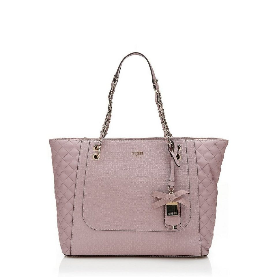 Guess MITTELGR. SHOPPER MARIAN STEPPEINS. in Rose
