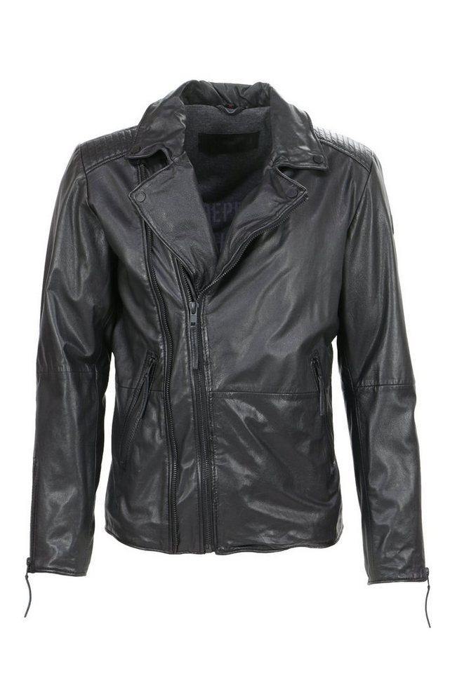 Freaky Nation Bikerjacke in black