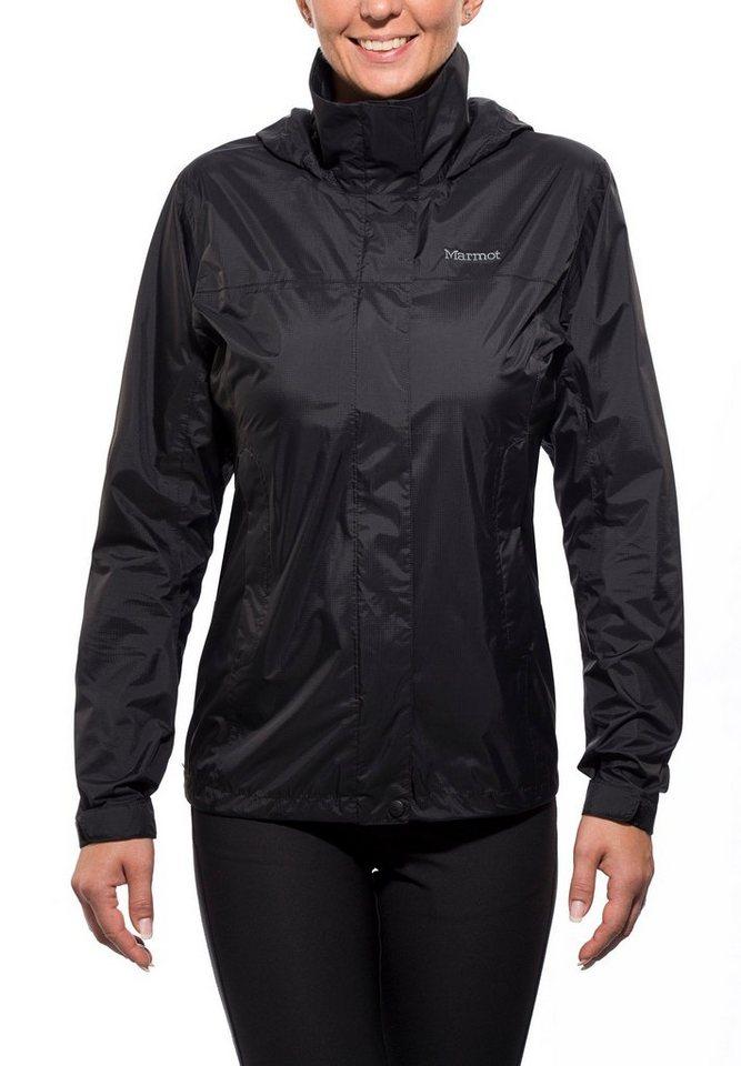 Marmot Regenjacke »PreCip Jacket Women« in schwarz