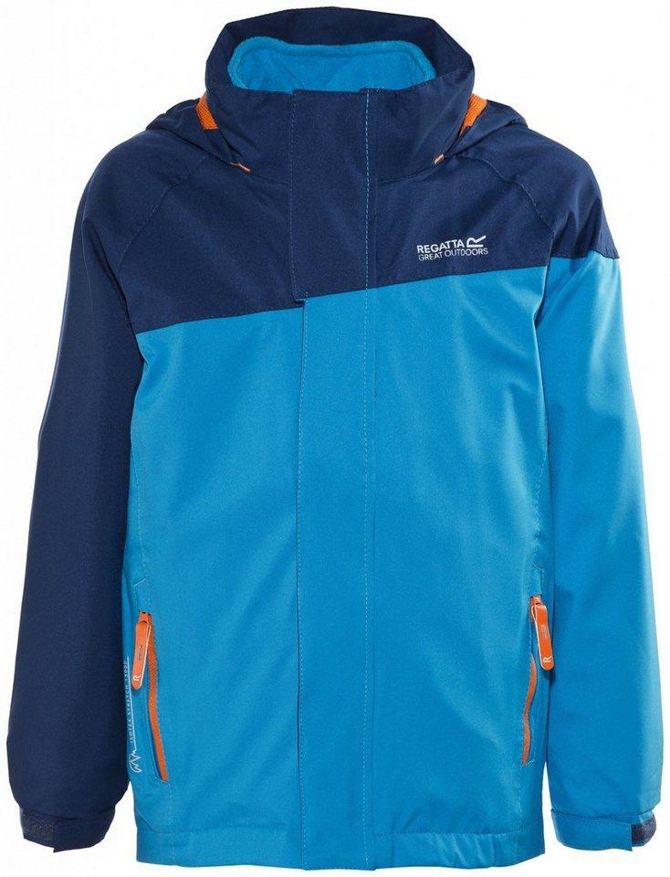 Regatta Outdoorjacke »Hydrate 3-in-1 Jacket Kids« in blau