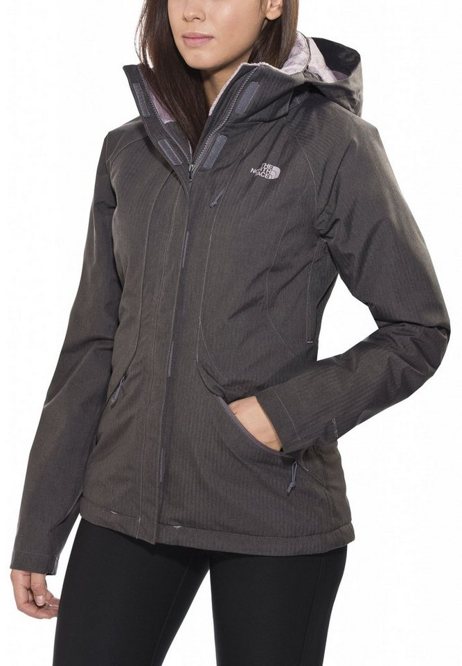 The North Face Outdoorjacke »Inlux Isulated Jacket Women« in grau