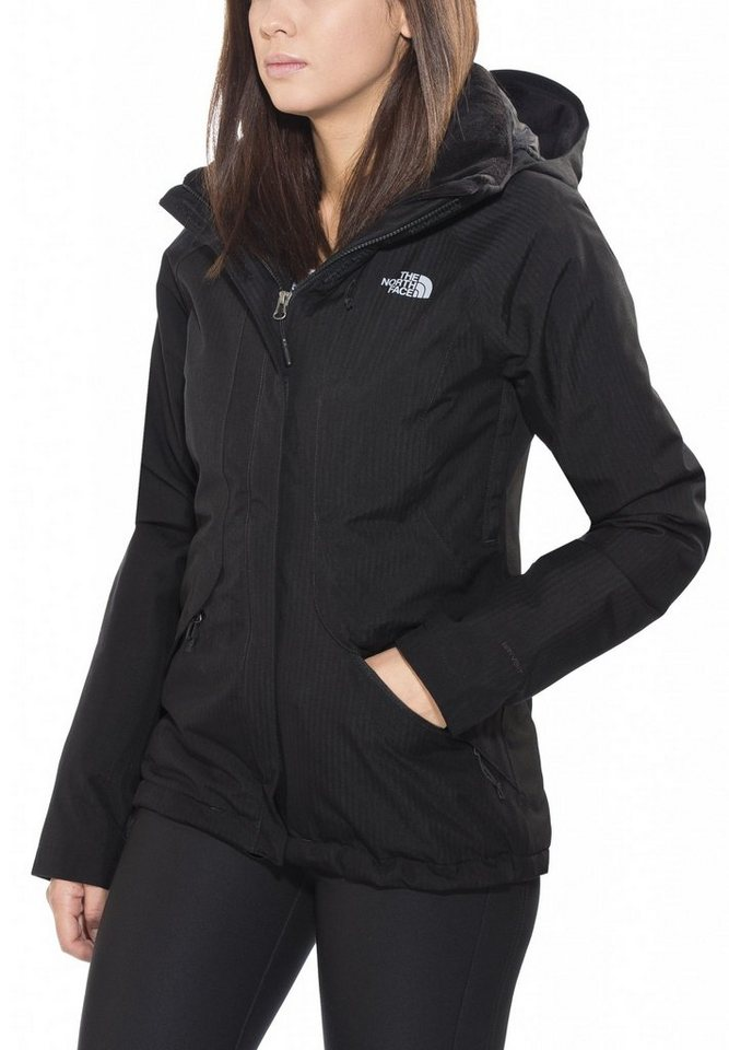The North Face Outdoorjacke »Inlux Isulated Jacket Women« in schwarz