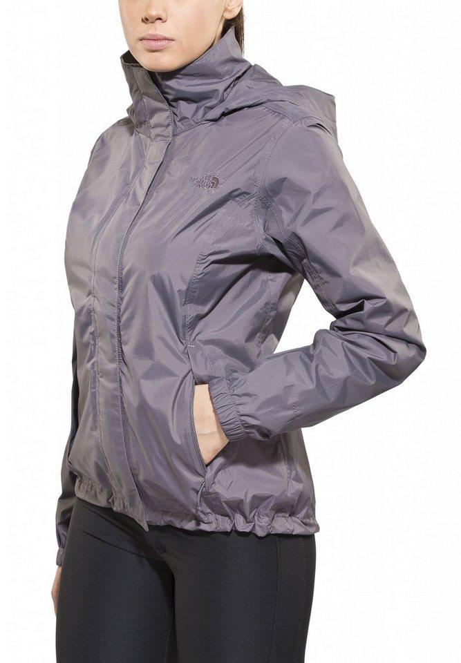 The North Face Regenjacke »Resolve Jacket Women« in grau