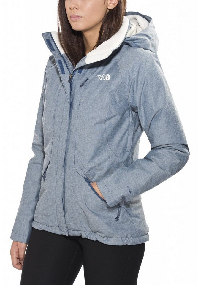 The North Face Outdoorjacke »Inlux Isulated Jacket Women« in blau