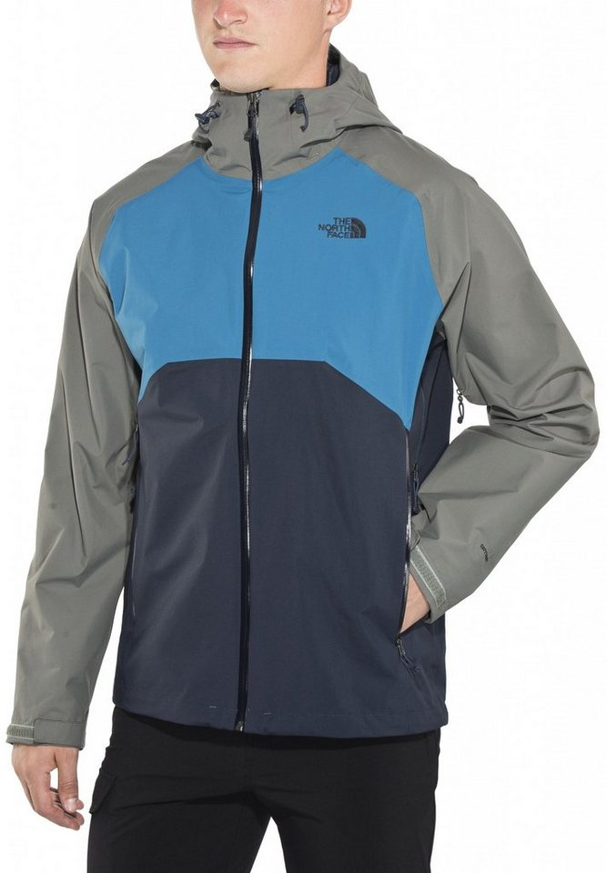 The North Face Regenjacke »Stratos Jacket Men« in blau