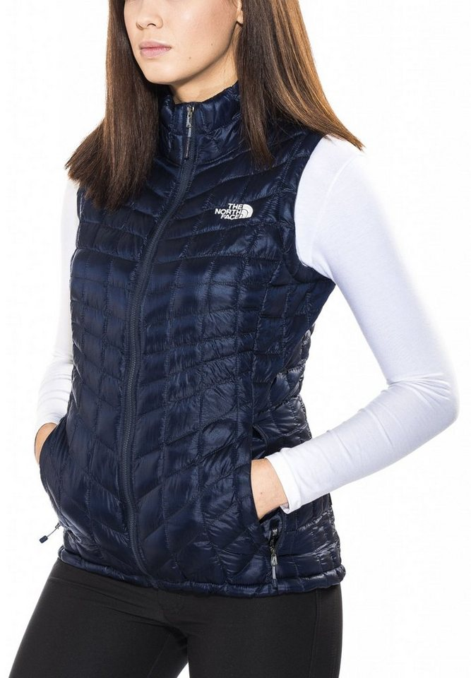 The North Face Weste »ThermoBall Vest Women« in blau