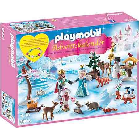 Playmobil® Adventskalender Eislaufprinzessin im Schlosspark (9008), »Christmas«