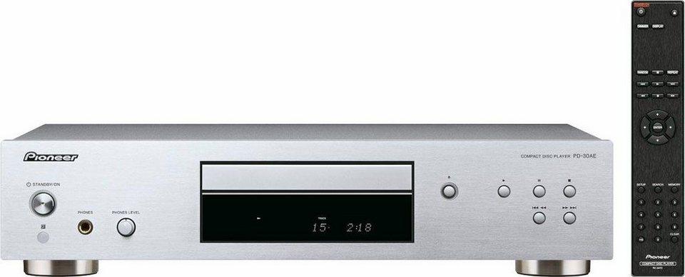 Pioneer PD-30AE-S/PD-30AE-B CD-Player in silberfarben