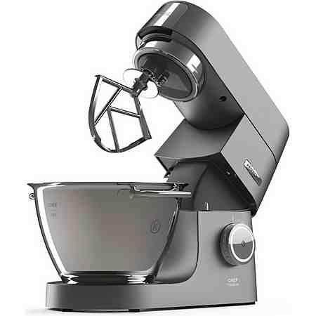 Kenwood Küchenmaschine Chef Titanium KVC7320S + Zubehörpaket, 4,6 Liter, 1500 Watt