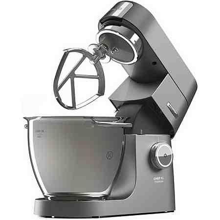 Kenwood Küchenmaschine Chef XL Titanium KVL8320S + Zubehörpaket, 6,7 Liter, 1700 Watt