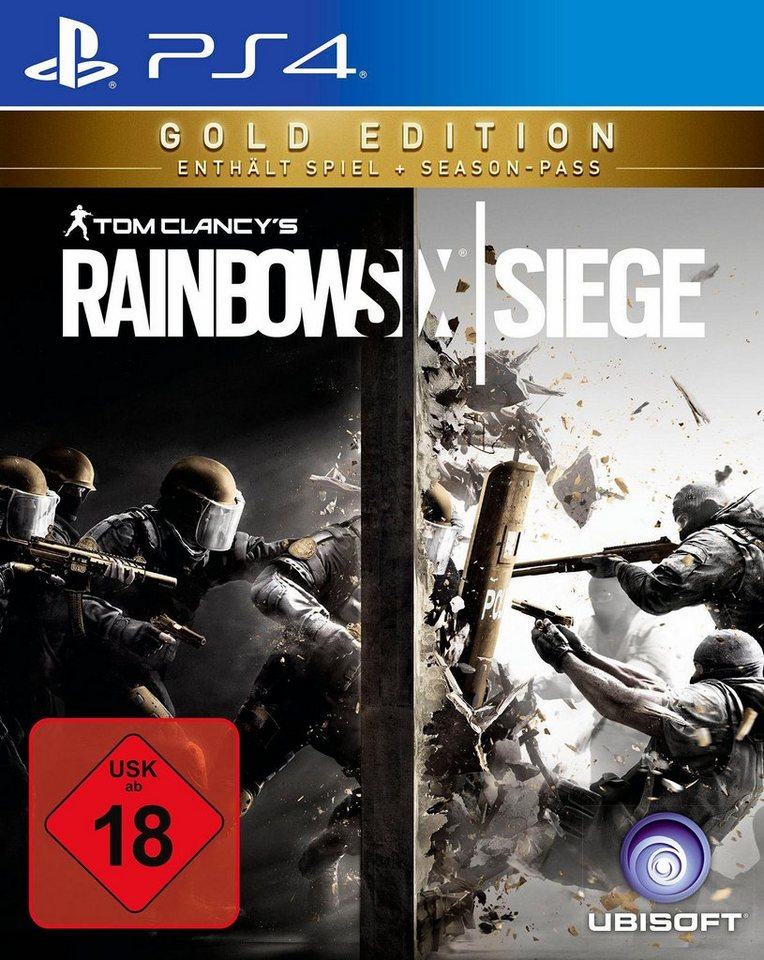 Tom Clancy`s Rainbow Six Siege Gold Edition PlayStation 4