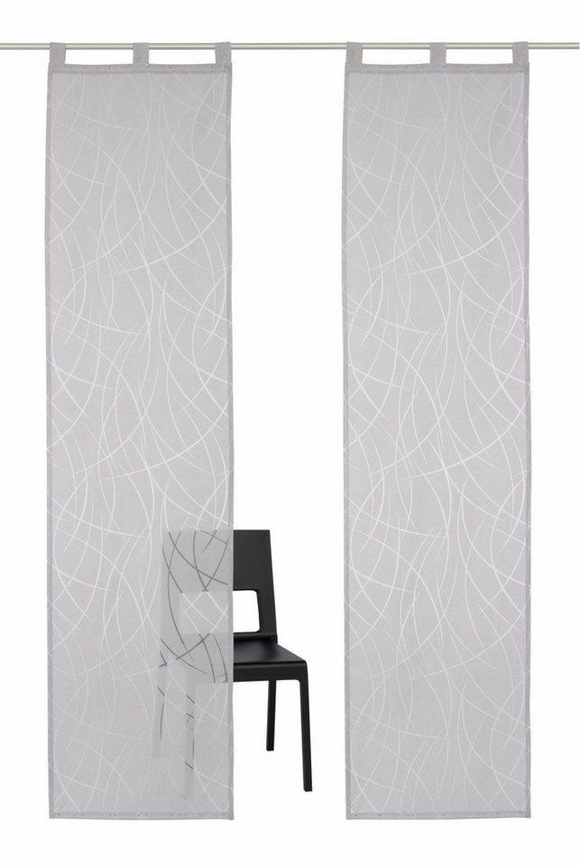 schiebegardine my home selection baruni mit schlaufen. Black Bedroom Furniture Sets. Home Design Ideas