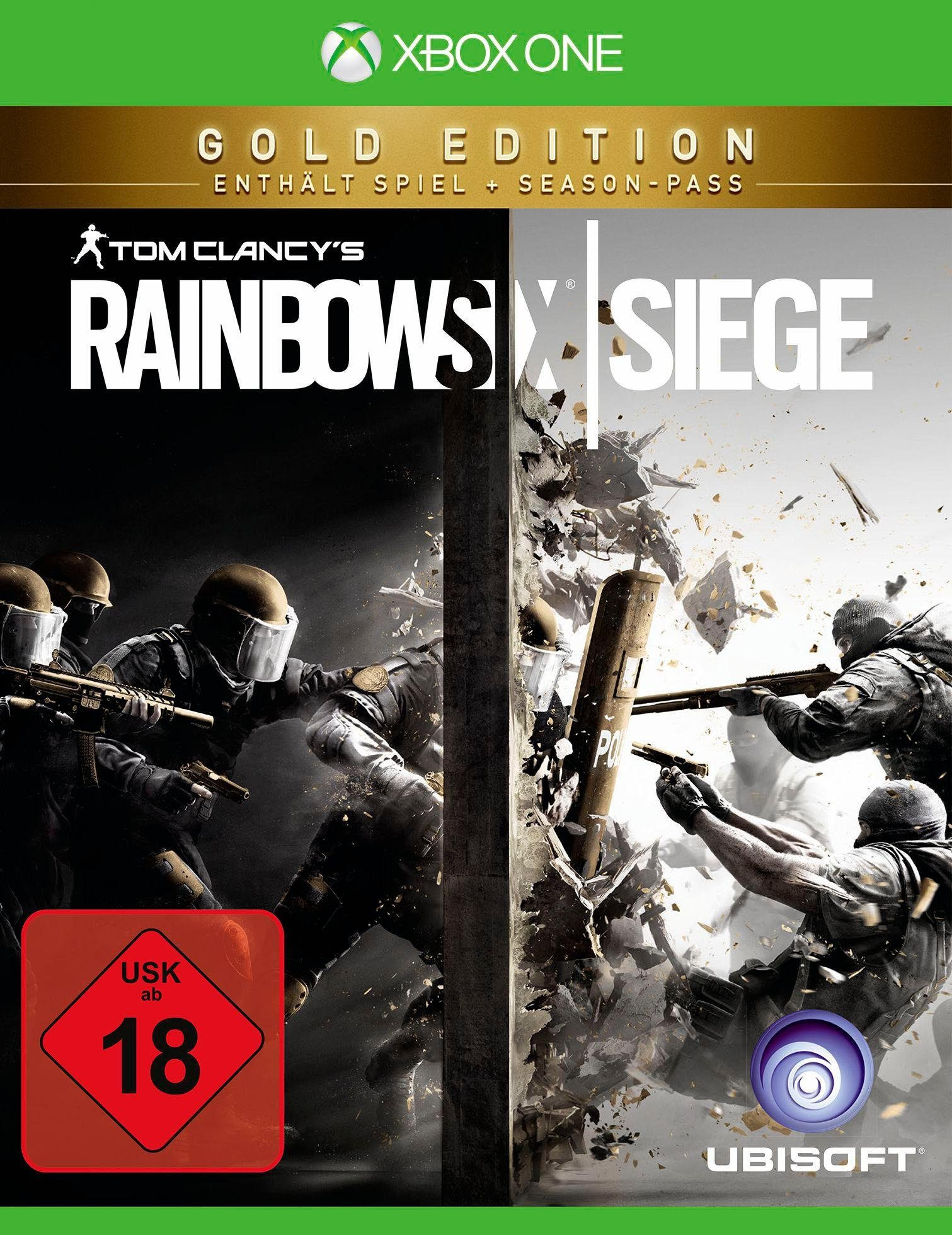 Tom Clancy`s Rainbow Six Siege Gold Edition Xbox One