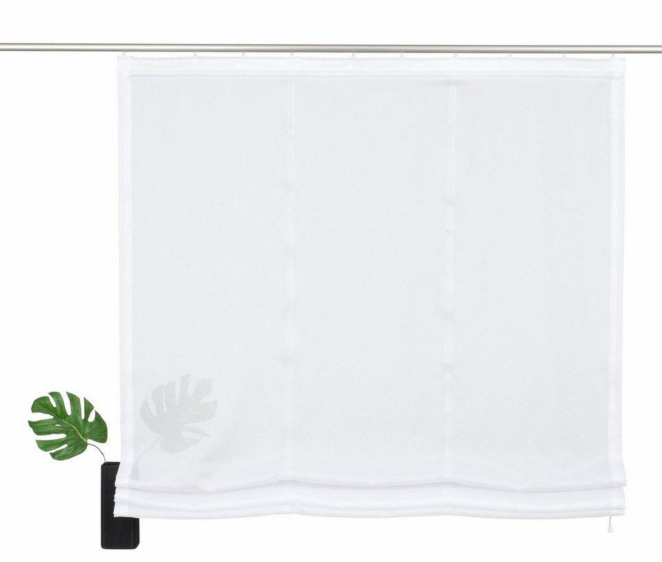 raffrollo my home freiburg mit klettband otto. Black Bedroom Furniture Sets. Home Design Ideas