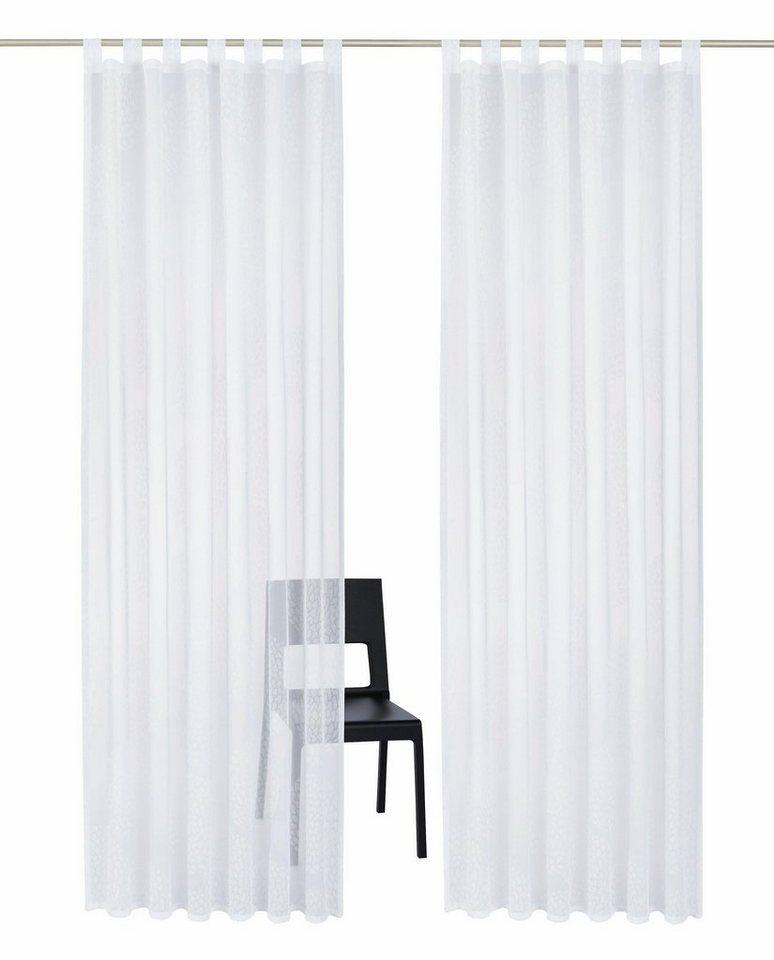 Gardine, my home, »Belem« (1 Stück) in weiß