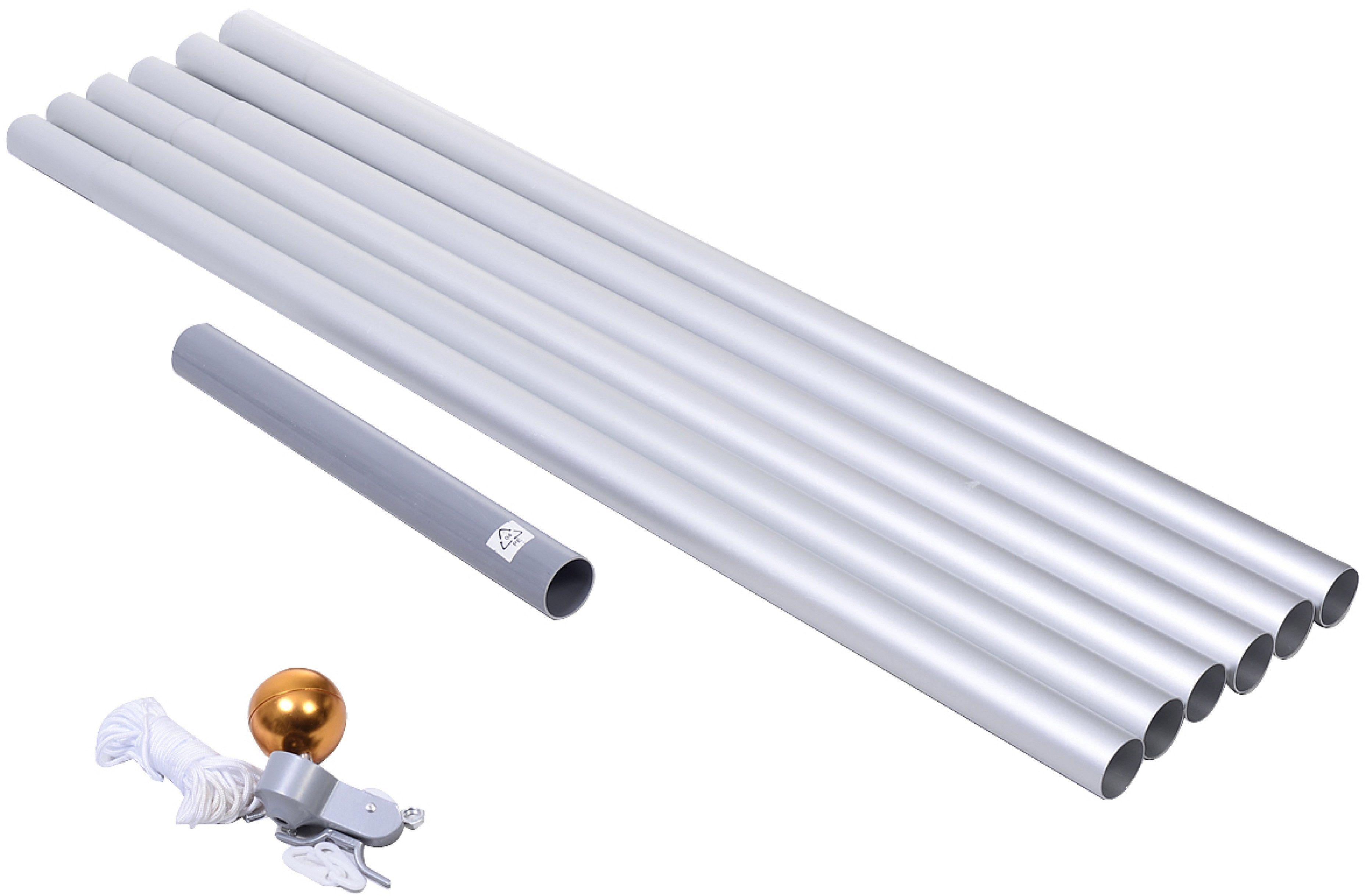Fahnenmast Aluminium