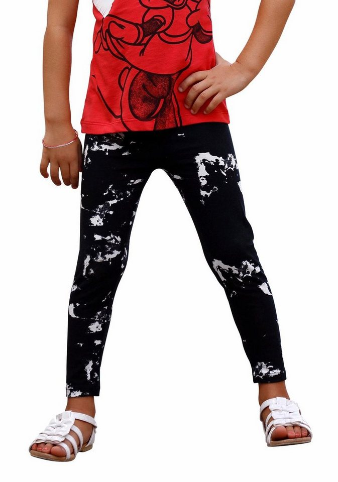 Arizona Leggings in Batik Optik in gemustert
