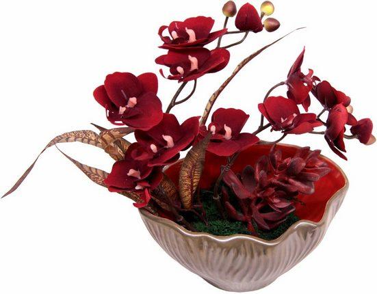 Home affaire Kunstpflanze »Gesteck aus Orchidee«