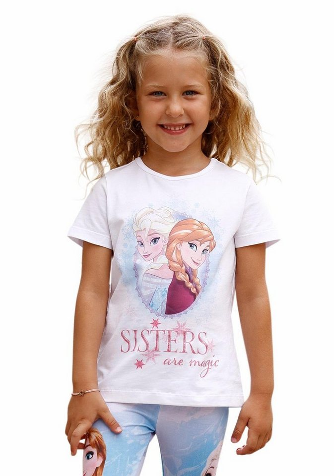 Disney Frozen T-Shirt Die Eiskönigin - Elsa in weiß