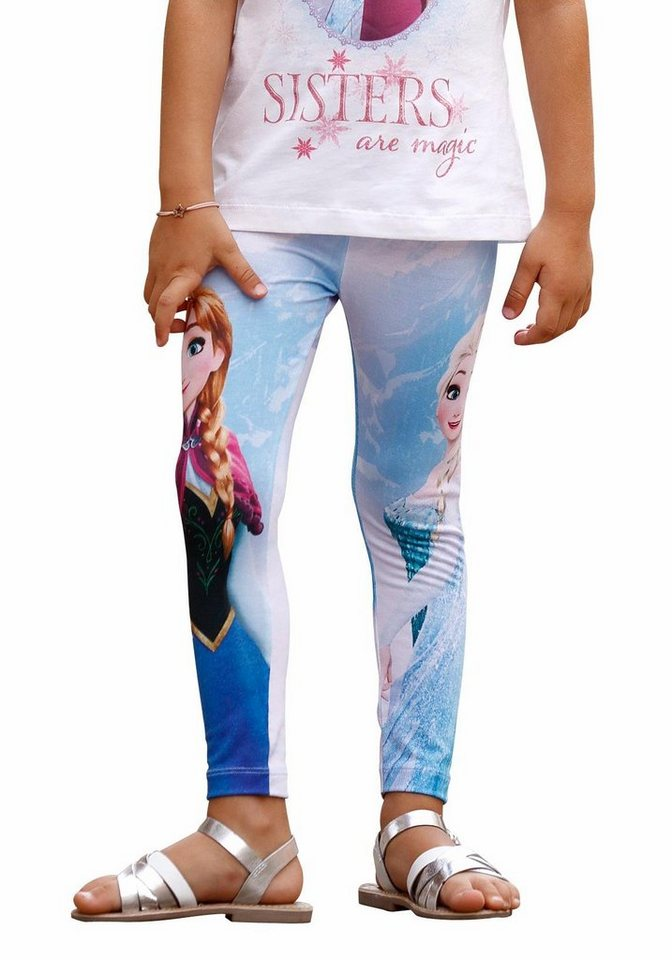 Disney Frozen Leggings Die Eiskönigin - Elsa in bedruckt
