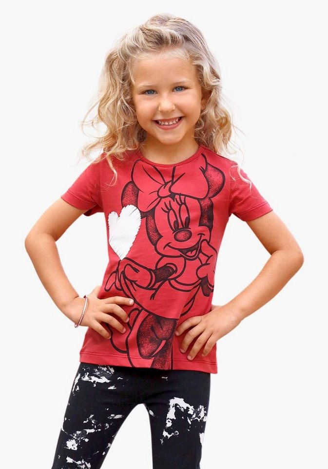 Disney T-Shirt Minnie Mouse in rot