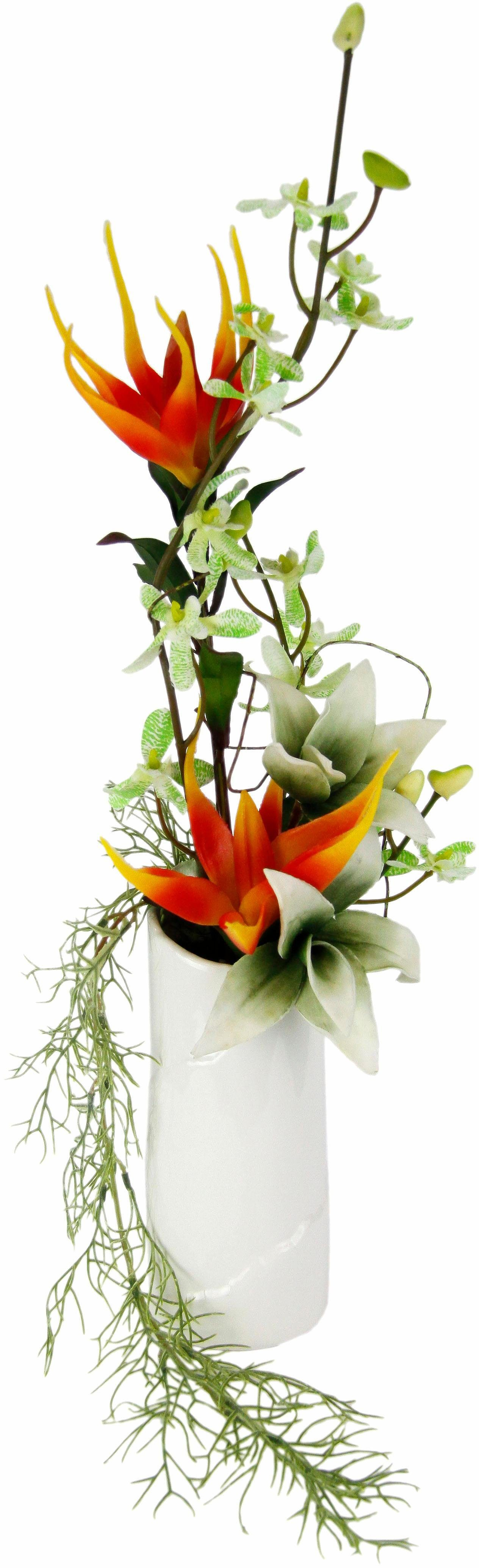 Home affaire Kunstblume »Exoten« in Vase