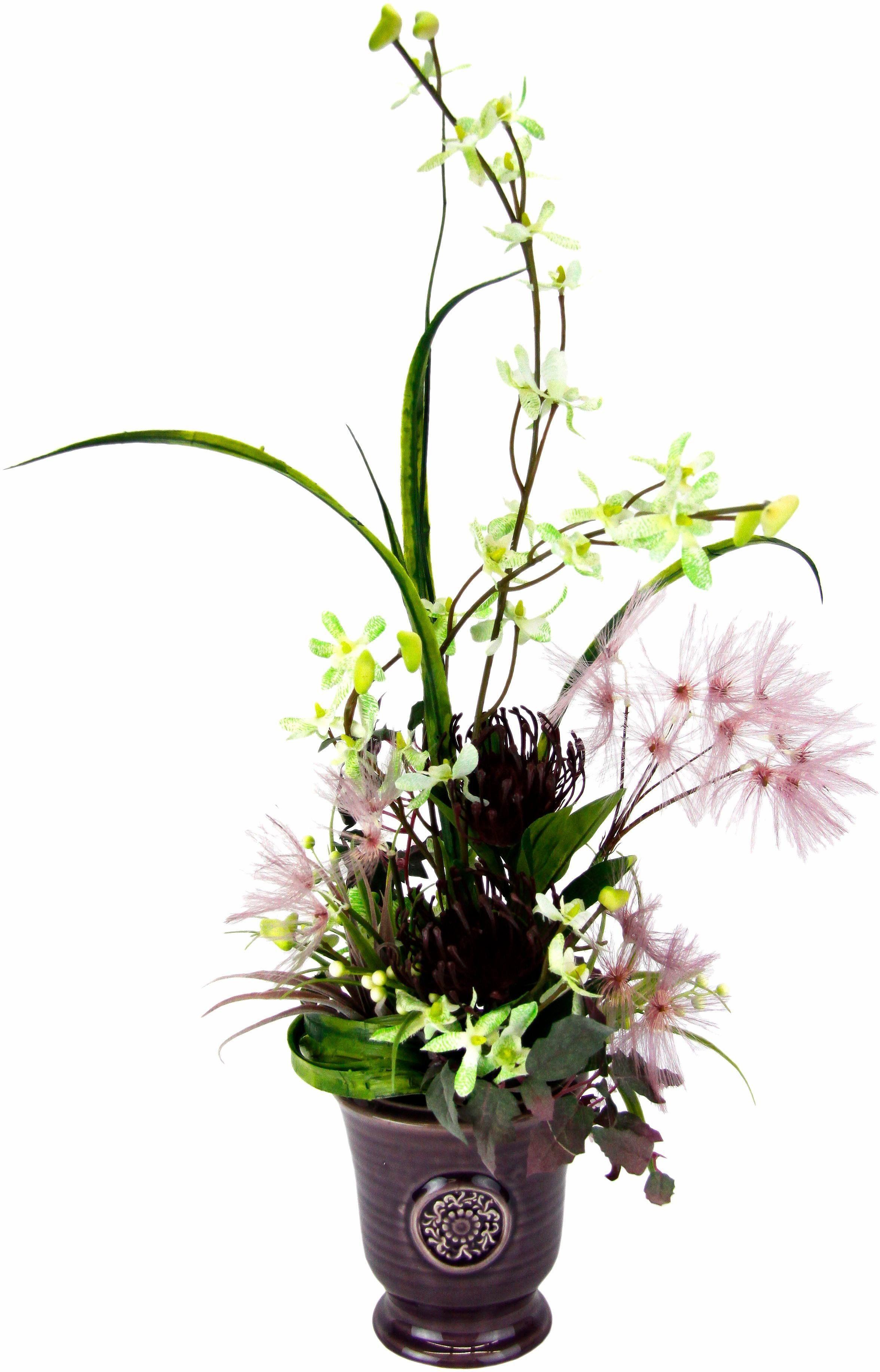 Home affaire Kunstblume »Orchidee/Protea«