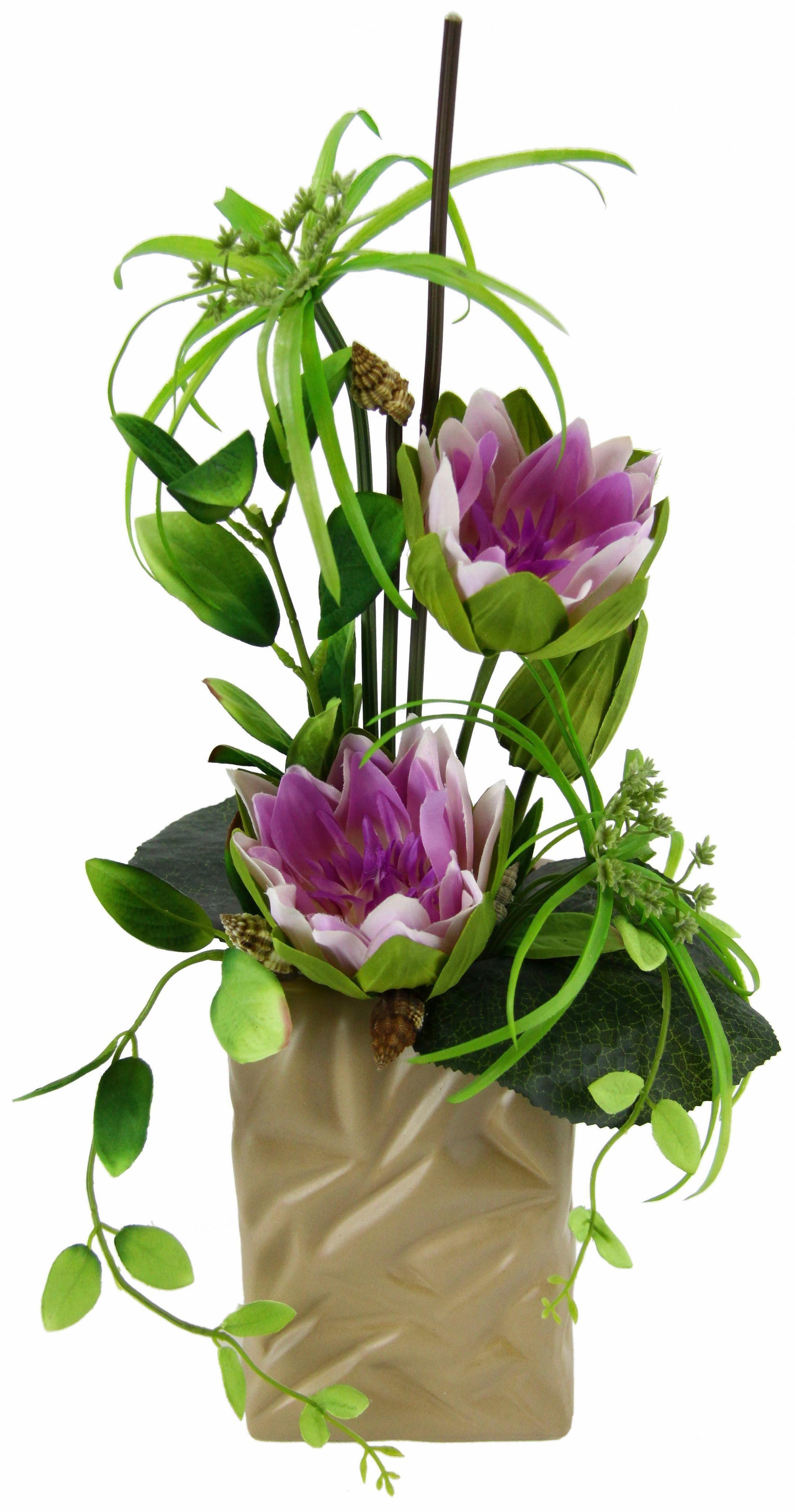 Home affaire Kunstblume »Seerose« im Topf