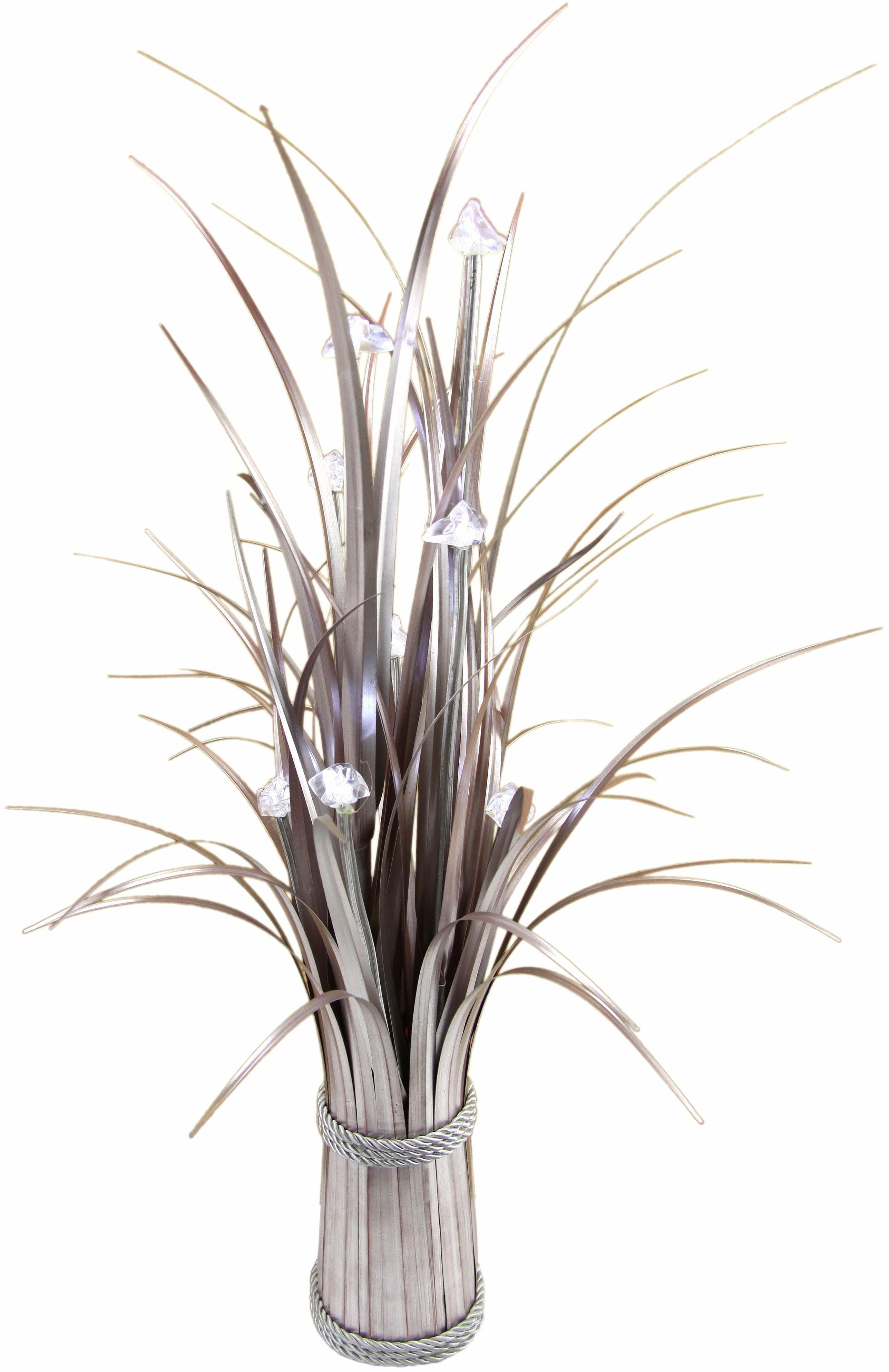 Home affaire Kunstpflanze »Grasbündel« mit Beleuchtung
