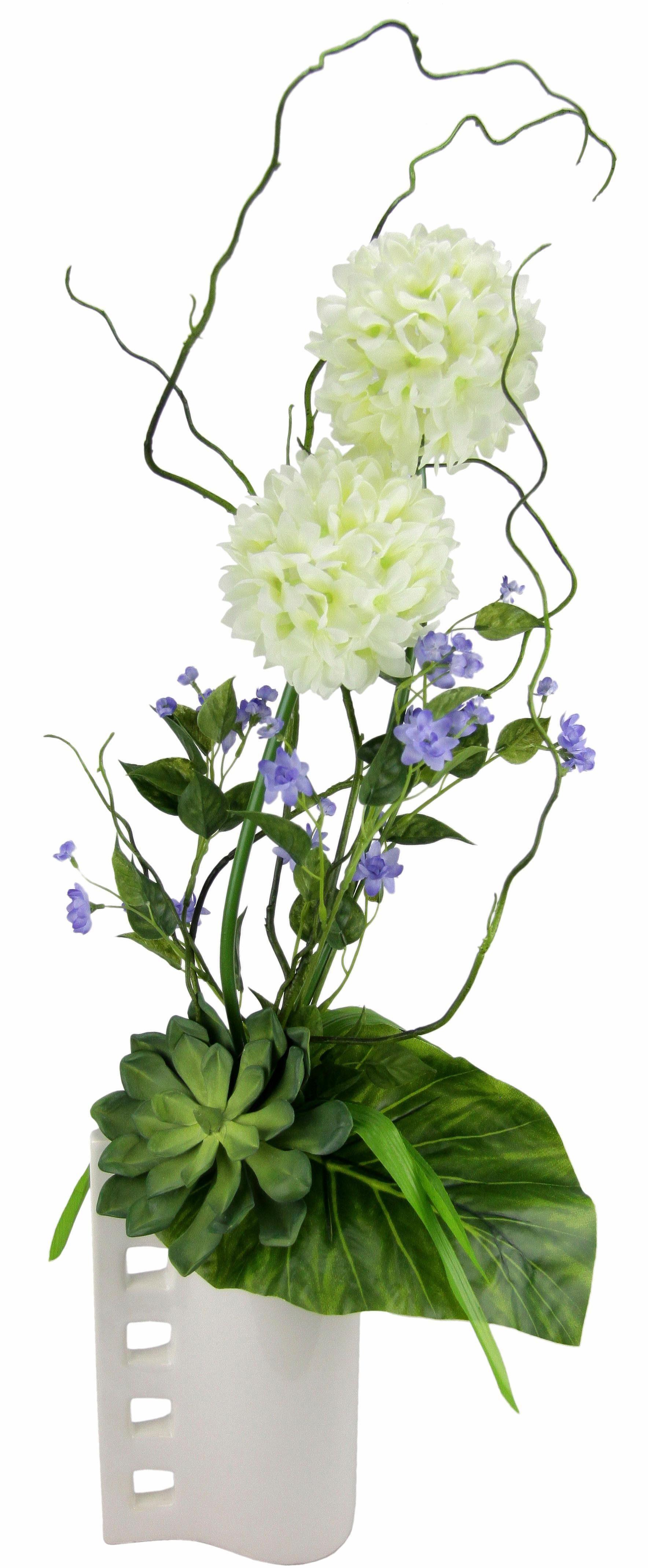 Home affaire Kunstblume »Allium« in Vase