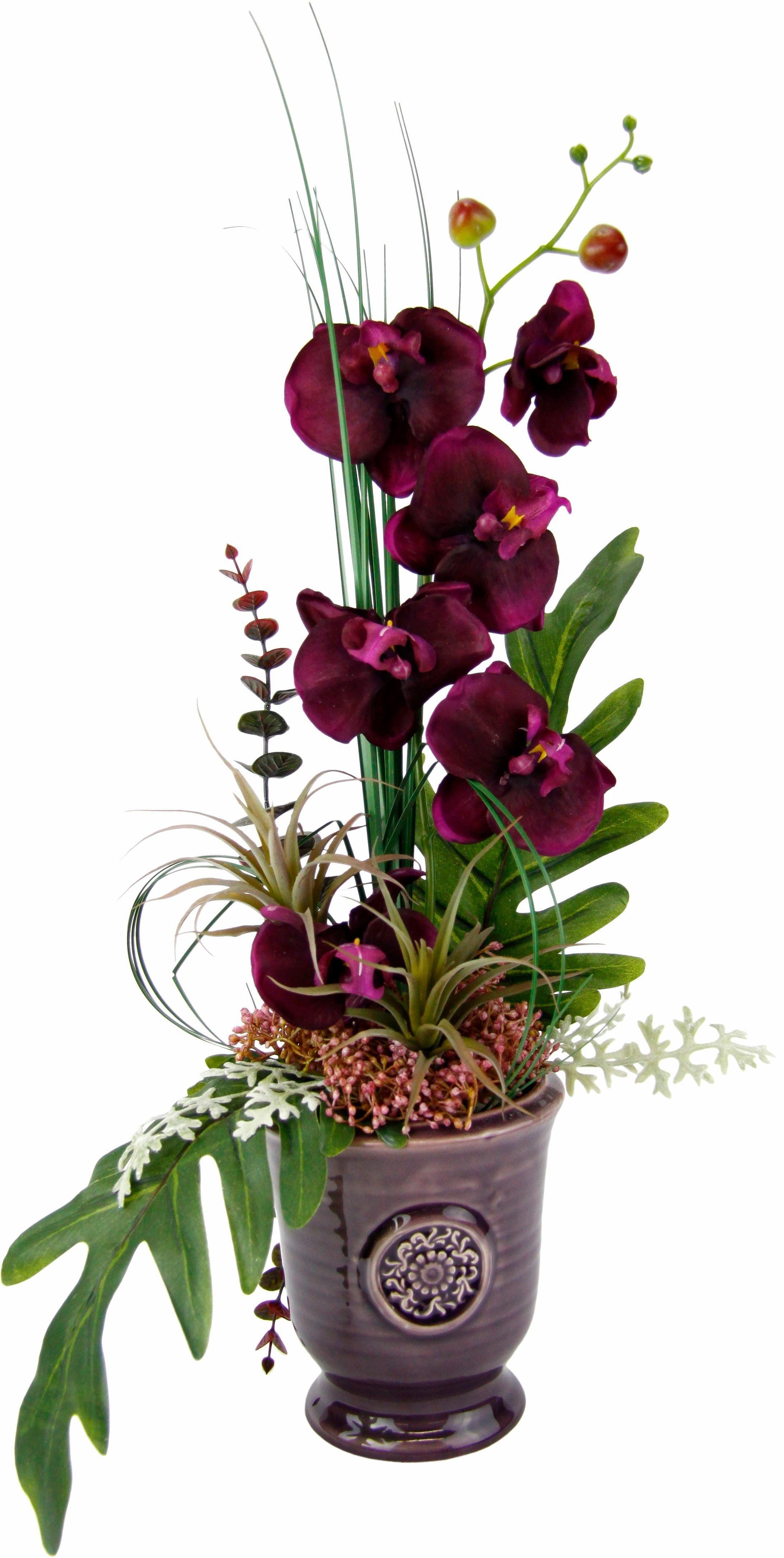 Home affaire Kunstblume »Orchidee« im Topf