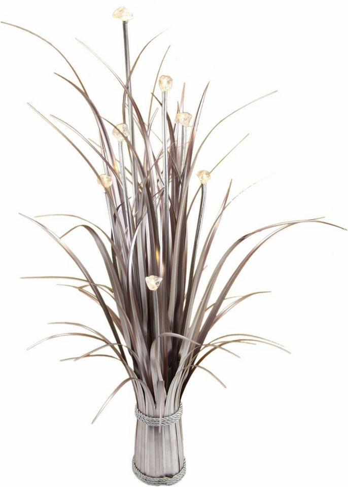 Home affaire Kunstpflanze »Grasbündel« mit Beleuchtung in braun