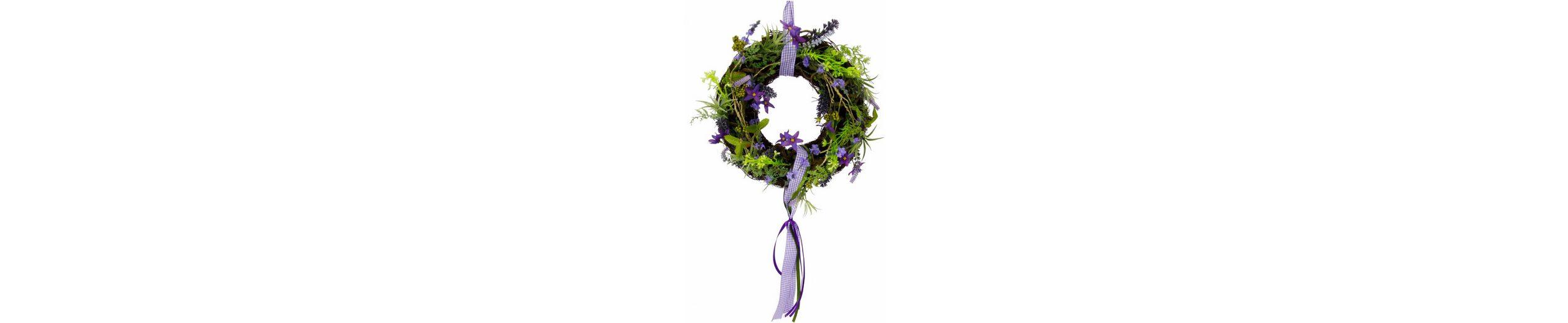 Home affaire Kranz »Lavendel/Blüten«