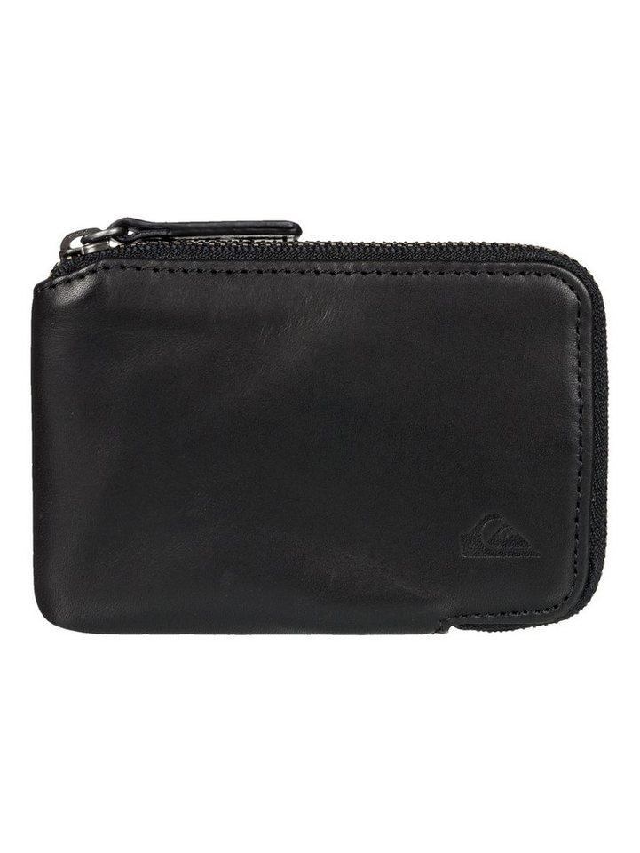 Quiksilver Portemonnaie mit Reißverschluss »Half« in Anthracite