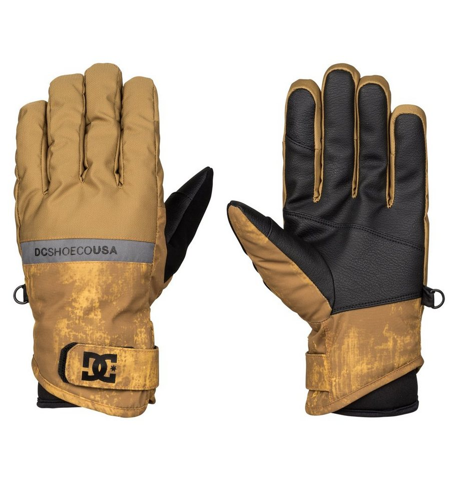 DC Shoes Schnee Handschuhe »Mizu« in Dull gold