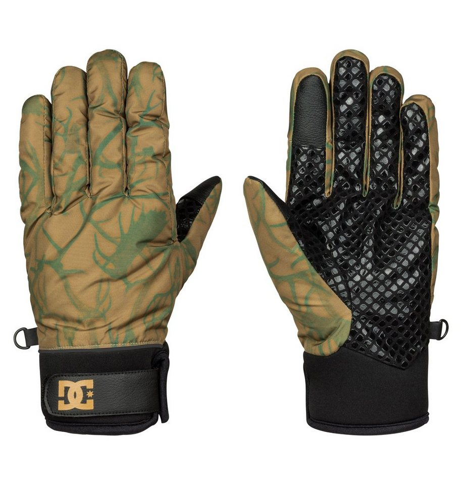 DC Shoes Schnee Handschuhe »Radian« in Dull gold