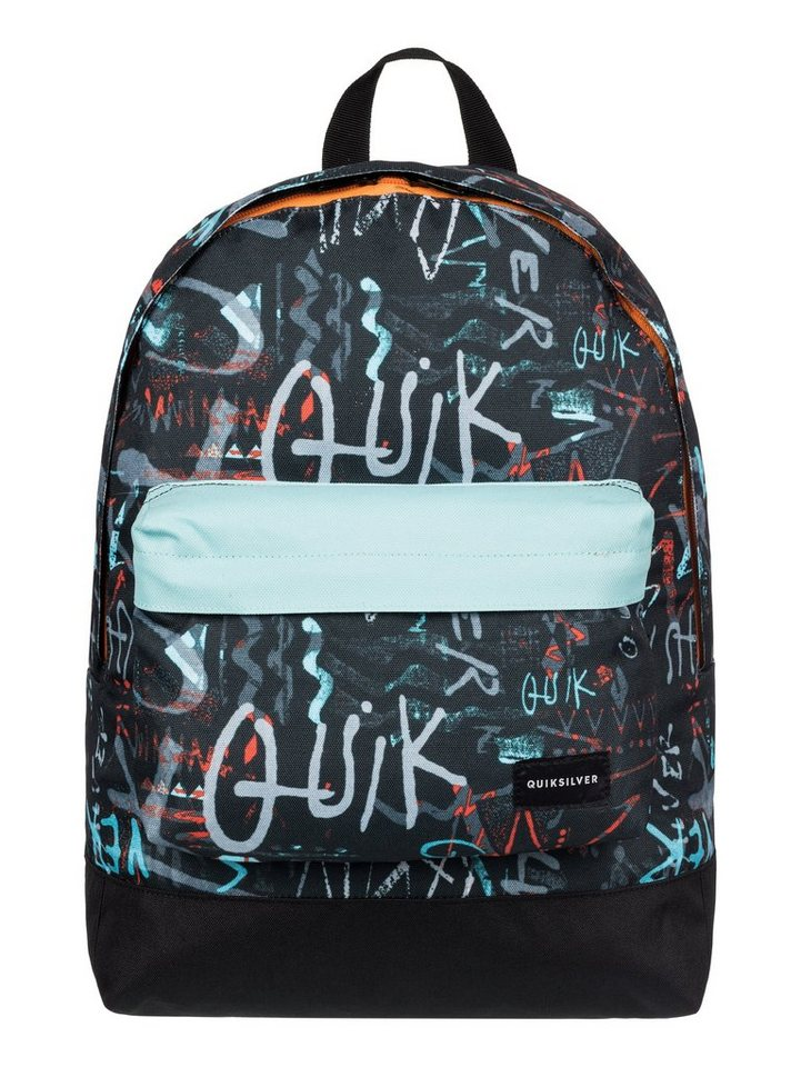 Quiksilver mittelgroßer Rucksack »Everyday Poster« in Lime punch