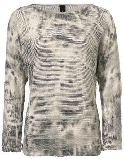 Graustein Angebote B.C. BEST CONNECTIONS by Heine Oversized-Pullover gemustert